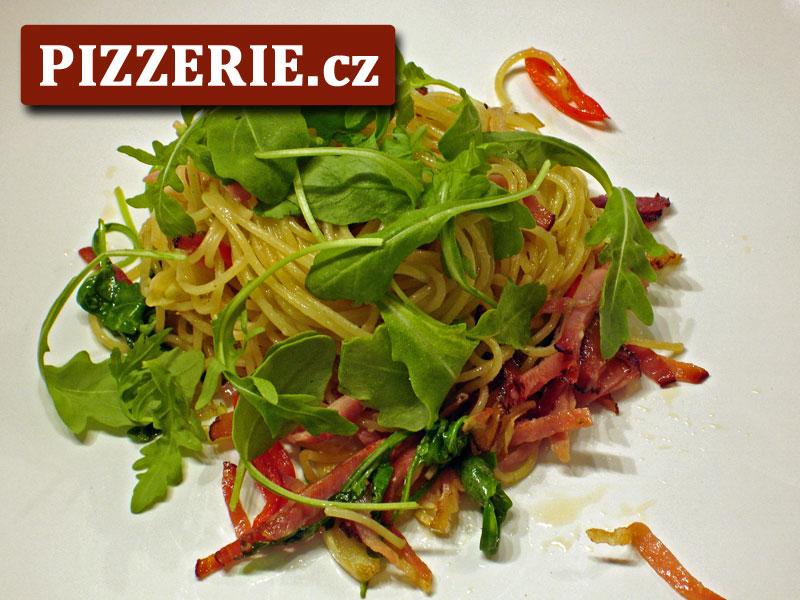 Špagety s italskou slaninou - Video: Spaghetti con la pancetta