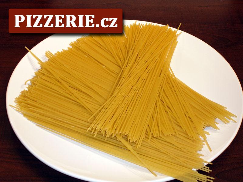 Špagety s krevetami - Video: Spaghetti con scampi