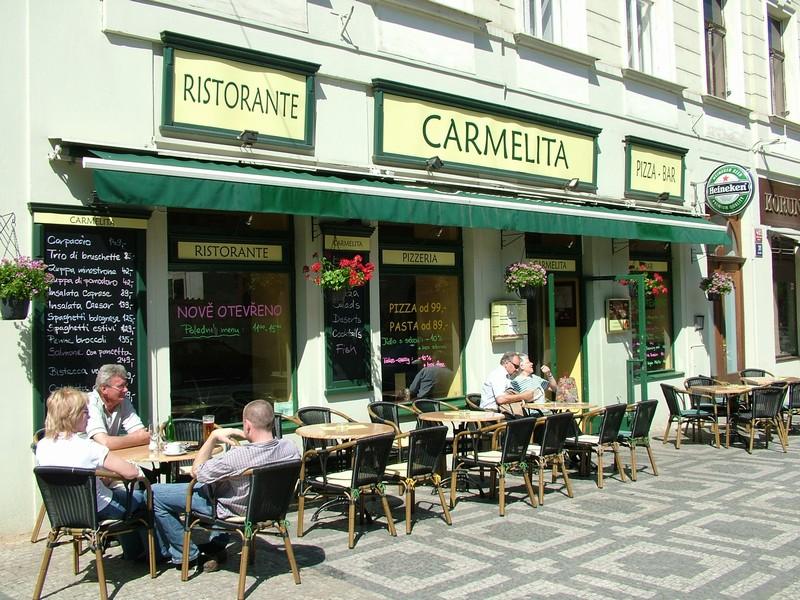 Ristorante Carmelita pizza - bar - Újezd 403/31, 118 00 Praha 1